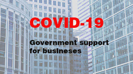 Government assistance for businesses affected by COVID-19